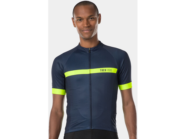 Bontrager Circuit LTD Jersey Men deep dark blue/radioactive yellow